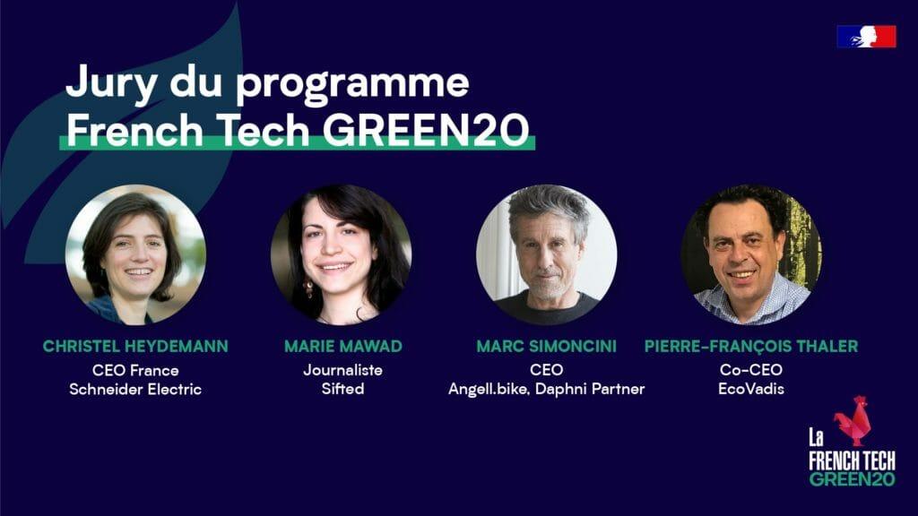 French Tech GREEN20 Jury